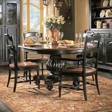 Hooker Furniture Indigo Creek  Piece Dining Set AHFA Dining - Bobs furniture milford ct