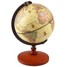 world globe on stand. Wooden World Globe Stand Vintage Rotating Atlas Office Desk Ornament Geography On E