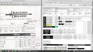 dnd 3 5 character sheet ttorp dnd 3 5e character sheet part 1 youtube