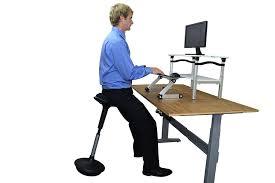 uncaged ergonomics wobble stool standing desk office and bar stool black co uk office s