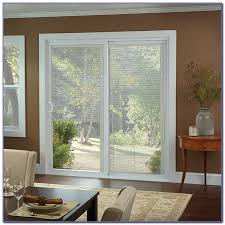 fiberglass french patio doors with built in blinds home