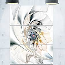 white stained glass floral art glossy metal wall art 36wx28h on metal wall art overstock with shop white stained glass floral art glossy metal wall art