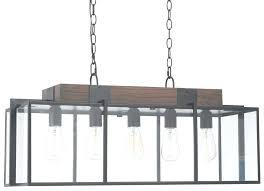 rustic lighting chandelier wood light regarding brilliant inside rectangular gallery of l square wood chandelier rectangular