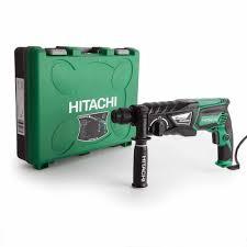 Hitachi DH26PC 830Watt 3.2J Chuyên Nghiệp Mũi Khoan Bê Tông SDS Plus Máy  Khoan Búa Xoay. Khí Nén Khoan Búa Trong Bê Tông Và Nghiền Nát Với Cơ Chế Khoan  Điện