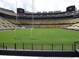 Lsu Tiger Stadium View From North Endzone 205 Vivid Seats