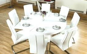 full size of oslo white high gloss round stowaway dining table with 4 chairs and komoro