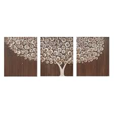 wall art canvas tree painting acrylic neutral brown by on brown wall art canvas with brown canvas wall art elitflat