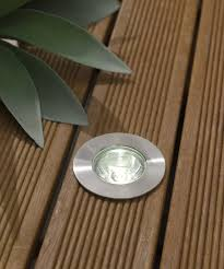 in ground lighting. LED 2W Round In Ground Spot Stainless Steel Lighting G