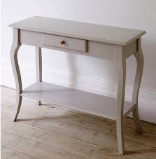 swedish narrow console table  the dormy house