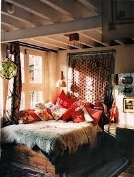 Bohemian Style Bedroom Interior