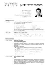 American Resume Gorgeous American Resume Format Lcysne