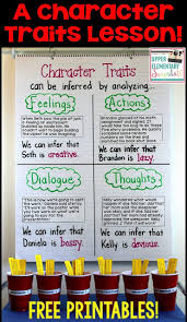 Character Traits Anchor Chart 14 Symbolic Character Trait Chart