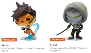 Every day new 3d models from all over the world. Funko Overwatch 2 Genji And Tracer 2019 Blizzcon Premiere Pop Figurines Available Now Newtoynews Com Exclusive News For Pop Culture Toys And Releases