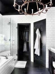 Bathroom Tile Displays Timeless Black And White Master Bathroom Makeover Hgtv