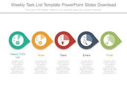 Weekly Task List Template Powerpoint Slides Download - Powerpoint ...