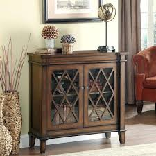 amusing accent cabinet with glass doors of cabinets storage