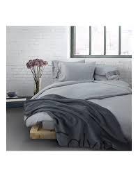 modern cotton grey queen bed duvet 1 2 zoom calvin klein