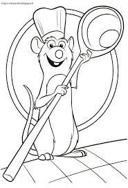 Ratatouille Disegno Colorare арт принт Disegni Da Colorare