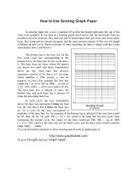 How To Use Semilog Graph Paper Google