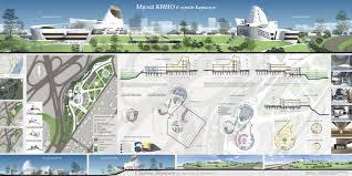 Баку Международный конкурс дипломных проектов Институт  Диплом 2 й степени МООСАО за проект Музей