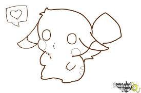 anime chibi pikachu drawing. Fine Chibi How To Draw A Chibi Pikachu  Step 9 Intended Anime Drawing O