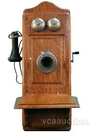 old wall telephone antique wooden wall telephone by co ch loading zoom decorative wall phone jack cover