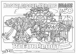 Kleurplaat Kermis Fantastisch Thema Kermis Kleurplaten Archidev