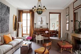See How One Designer Turned His Paris Duplex Into an Elegant Display of  Artwork and Antiques