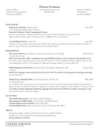 Sample Resume For College Student College Freshman Resume Professional 25 Elegant College Freshman
