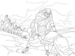 Esau Vergeeft Jakob Kleurplaat Gratis Kleurplaten Printen