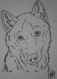Husky coloring page by Canis-Simensis on DeviantArt