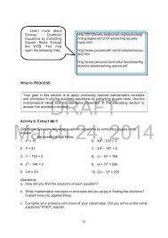 quadratic equation worksheet pdf new mathematics 9