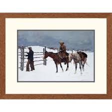 western the fall of the cowboy by frederic remington framed graphic art on framed western wall art with cowboy western wall art wayfair