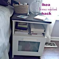 Ikea Hack Nightstand Ikea Nightstand Hack My Crafty Spot When Life Gets Creative