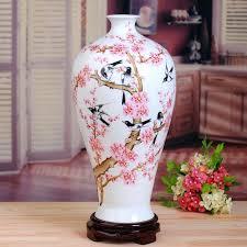 ceramic desk accessories pink peach flower ceramic vase modern porcelain flower vases handmade antiques desk accessories ceramic desk accessories
