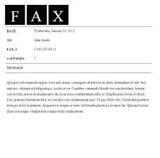 How To Fax Cover Letter Free Fax Cover Sheet Template For Mac Letter With Sample Facsimile