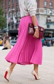 """Résultat de recherche d'images pour """"tenue mode tons fuchsia"""""""