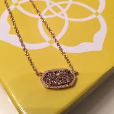kendra scott rose gold necklace kendra scott jewelry rose gold necklace poshmark