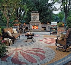 Paving Ideas For Backyards Painting Backyard Paver Designs With Unique Paver Designs For Backyard Painting