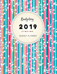 Monthly Bill Organizer Book Budgeting Planner 2019 Budget Planner Finance Journal Binder