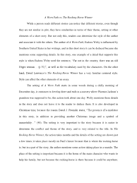 rocking horse winner theme essay  essay about the rocking horse winner theme analysis 694 words