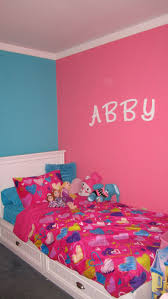 Pink And Blue Girls Bedroom Pink And Turquoise Girls Bedroom Girls Room Ideas On Pinterest