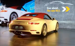 porsche new car release2017 Porsche 911 Range Launched in India Prices Start at Rs 142