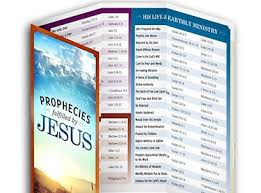 David Jeremiah Free Prophecy Chart Prophecies Fulfilled By Jesus Request Your Free Chart