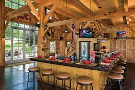 Image of: Barn House Kitchen Design Ideas