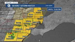 7 FIRST ALERT WEATHER: Severe ...