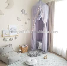Kids Bed Canopy Bed Curtain Round Dome Hanging Mosquito Net Curtain Moustiquaire Zanzariera For Baby Kids Playing Home Klamboe, View mosquito net, HL ...