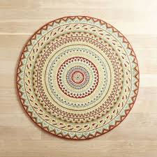 fair isle red 639 round rug pier 1 imports pier one round outdoor rugs