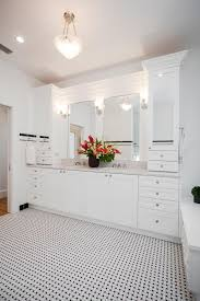 basketweave tile bathroom. Basketweave Tile Are Perfect For Your Bathroom Flooring Ideas: With White Cabinet