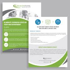 focus group flyers professional serious flyer design job flyer brief for healthmark